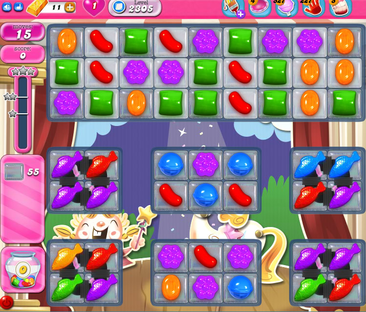 Candy Crush Saga level 2305