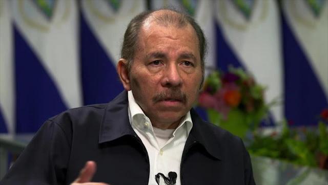 Ortega acusa a EEUU de financiar la violencia en Nicaragua