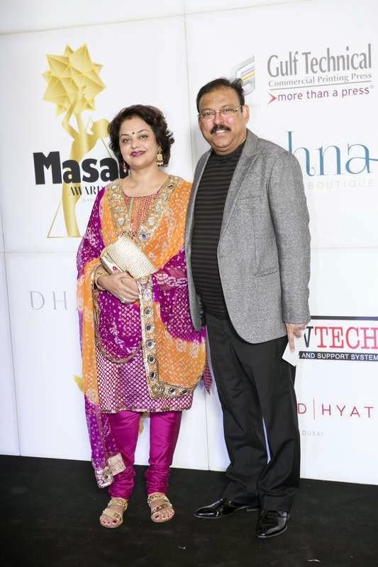 Rachna and Neelesh Bhatnagar, Masala! Awards 2014 Photo Gallery