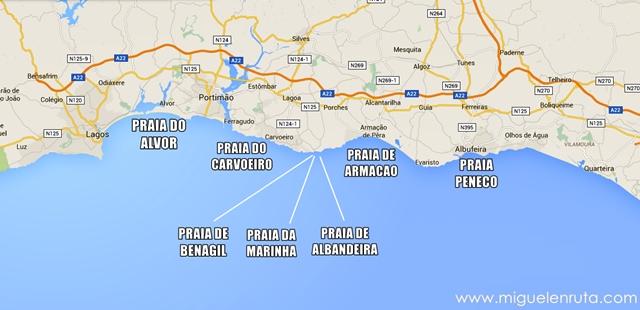 Mapa-playas-centro-Algarve