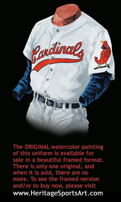 946563c29849 St. Louis Cardinals Uniform and Team History