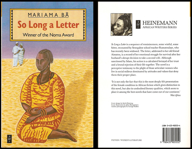 So Long A Letter by Mariama Ba ~ Literary Criticism :)