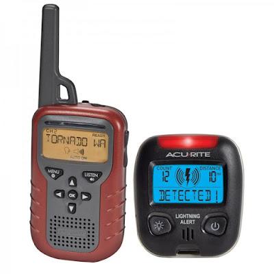 AcuRite Indoor/Outdoor  Weather Radio and Lightning Detector Giveaway 9/10