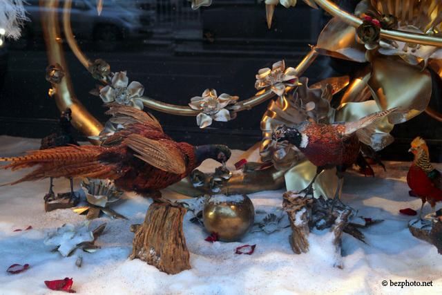 новогодние витрины цума