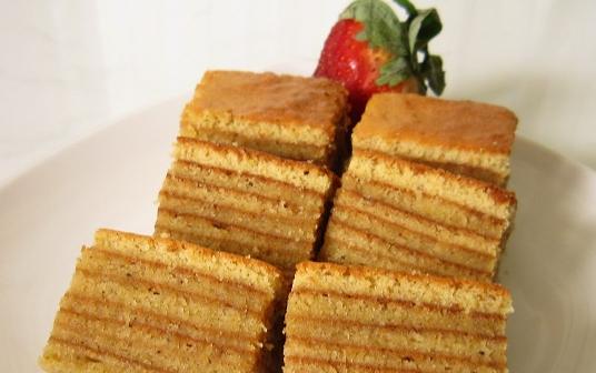 Aneka Resep Kue Lapis Tepung  Sagu, Kanji, Tepung Bersas Pakai Susu Dan Coklat