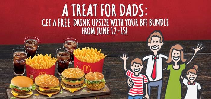 McDo Treat For Dads