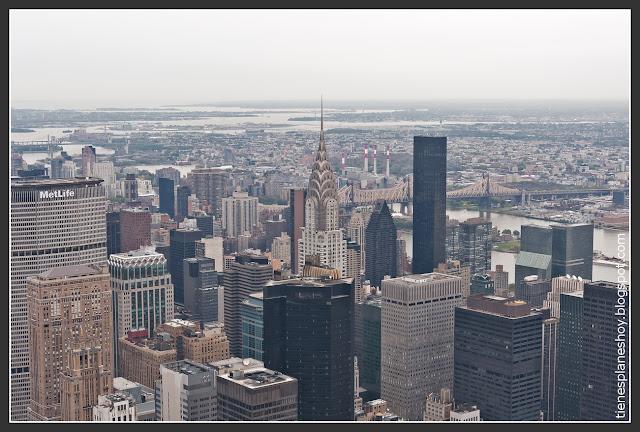 Edificio Chrysler desde el Empire State