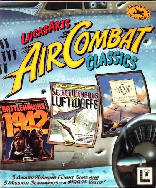 lucasarts aircombat classics ad