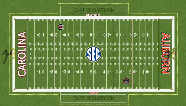 auburn football 2010 sec championship field