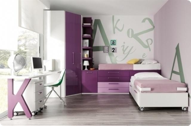 Dormitorios juveniles con armario de rinc n - Armarios juveniles merkamueble ...