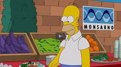 Monsanto, Monsarno, Los Simpsons, OMG
