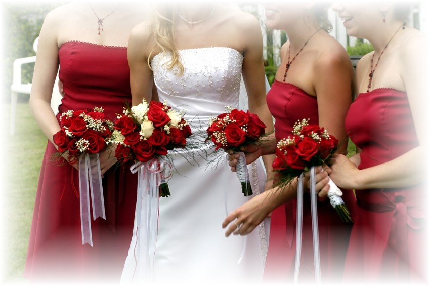 Bridal Style And Wedding Ideas: Red Bridal Bouquet Ideas