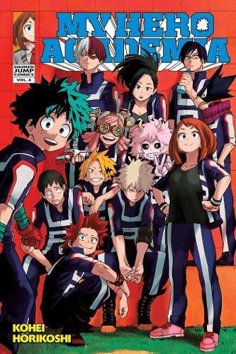 My Hero Academia Volume 4 - Kohei Horikoshi