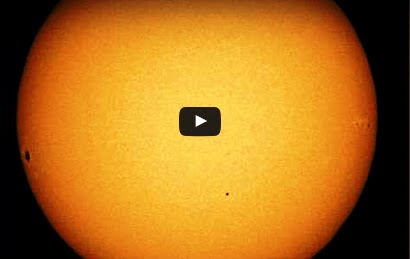 Get ready! Coming Month Mercury will Move in front of the Sun Video in a rare event