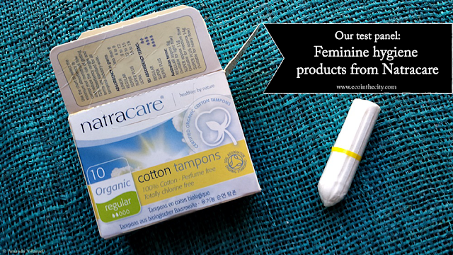 Our test panel reviews feminine hygiene products, including tampons, from Natracare