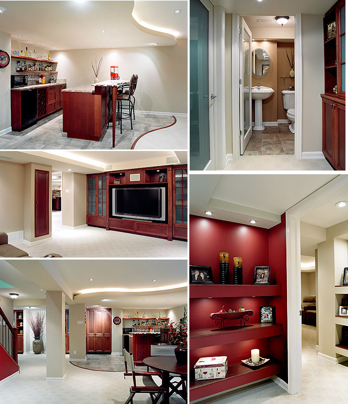 Home Design Basement Ideas: Interior Design: The Best Luxury Basement Design