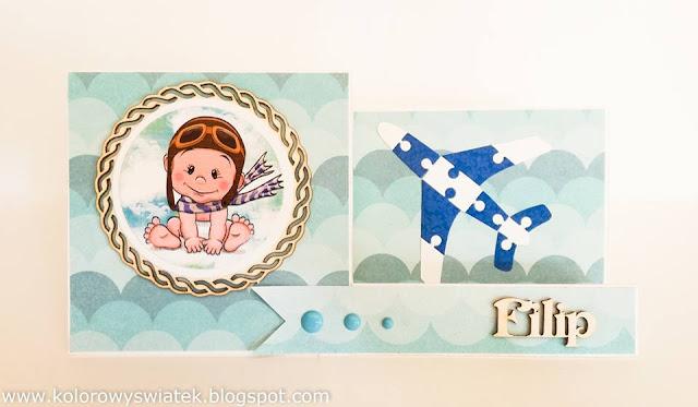 kartka z okazji urodzin dziecka