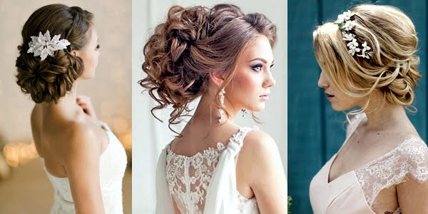 Romantic Hairstyles For Wedding: Stunning Romantic Bridal Hairstyles!
