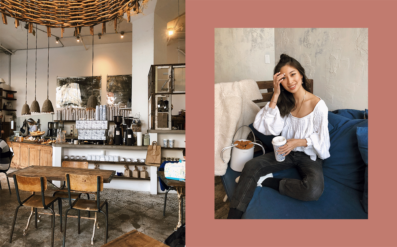 Maman Hudson coffeeshop, cute New York coffee shops, New York personal style blogger, New York City lifestyle - Press to Resume / 012019 - FOREVERVANNY.com