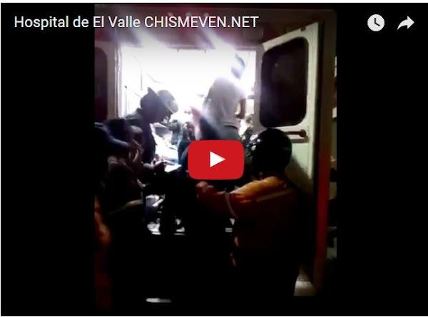 Evacúan a 54 niños de hospital de El Valle por bombas lacrimógenas