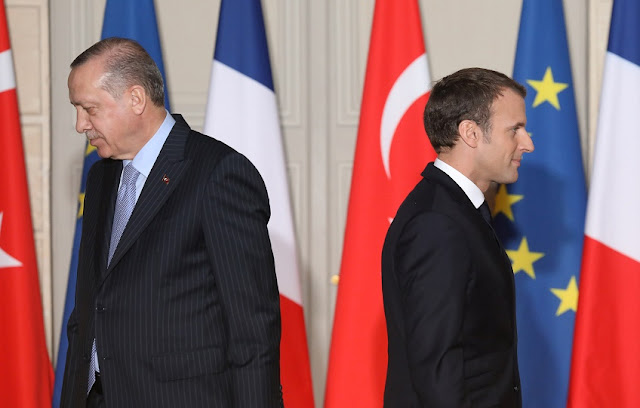 Erdogan Kritik Keras Macron yang Sebut Terorisme Islam