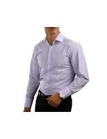 Camasa Lavender Striped Clock shirt • Cătălin Botezatu