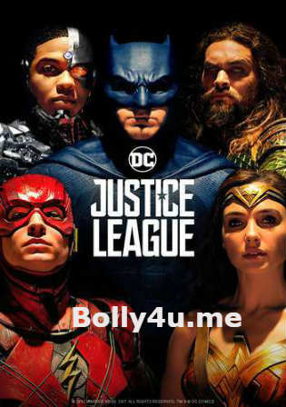 Justice League 2017 HDRip 900MB Hindi Dual Audio 720p Watch Online Full Movie Download bolly4u
