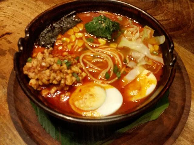 Mamas Spicy Ramen Bowl