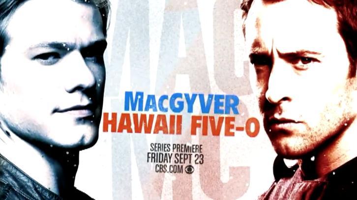 MacGyver & Hawaii Five-0 - Combo Promo