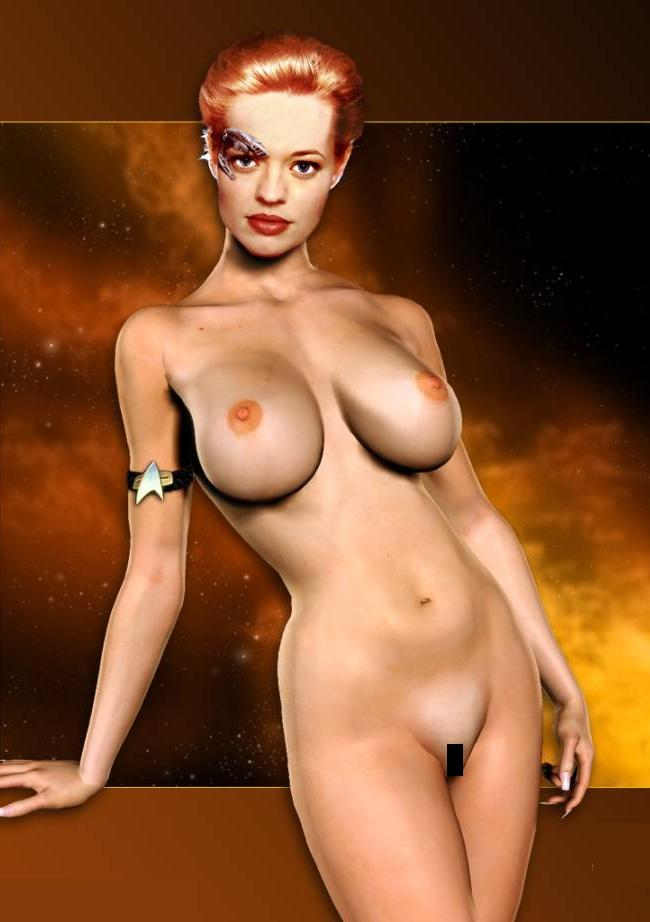 Free nude star trek women