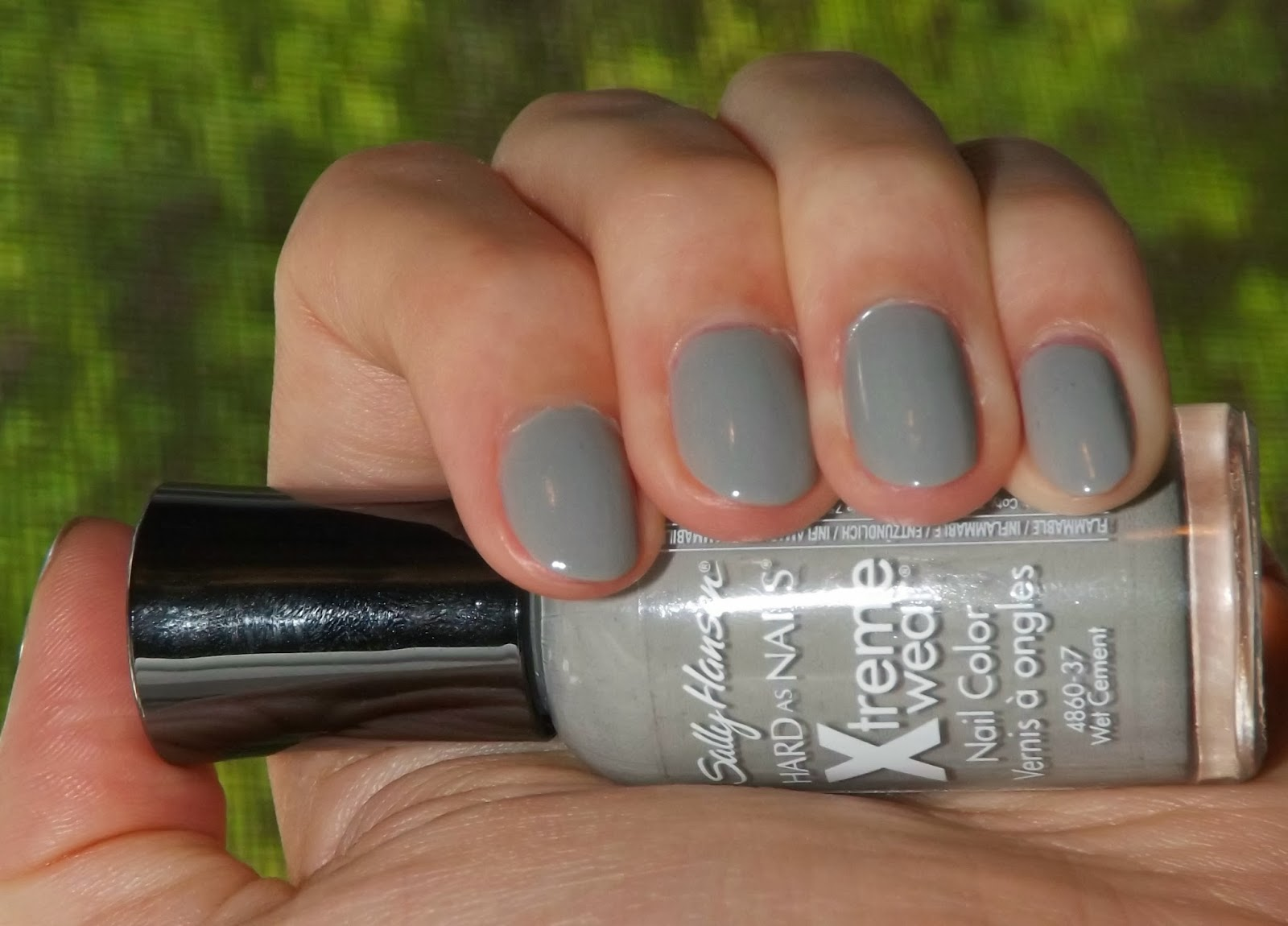"Perfectly Polished 12: Perfectly Polished 12: Sally Hansen ""Wet Cement"""