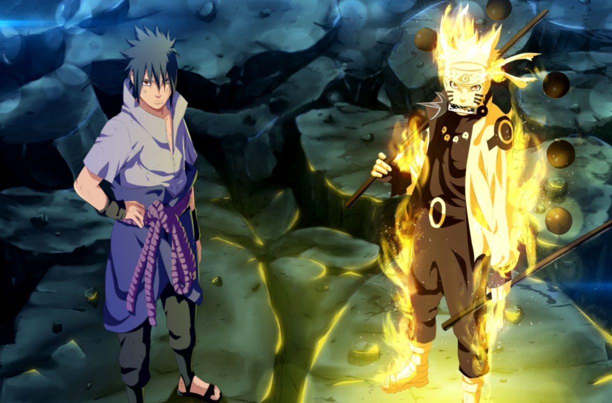 Wallpaper game Sasuke Naruto war anime sharingan ninja