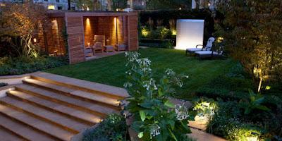 La iluminación en tu jardín