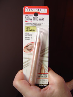Rimmel Brow This Way Highlighting Pencil #002 Gold Shimmer Review + SWATCHES!
