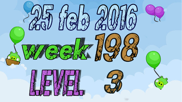 Angry Birds Friends Tournament Week 198 level 3