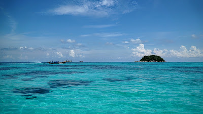 The shallows off Koh Lipe are so crystal clear that you'd think this was a swimming pool