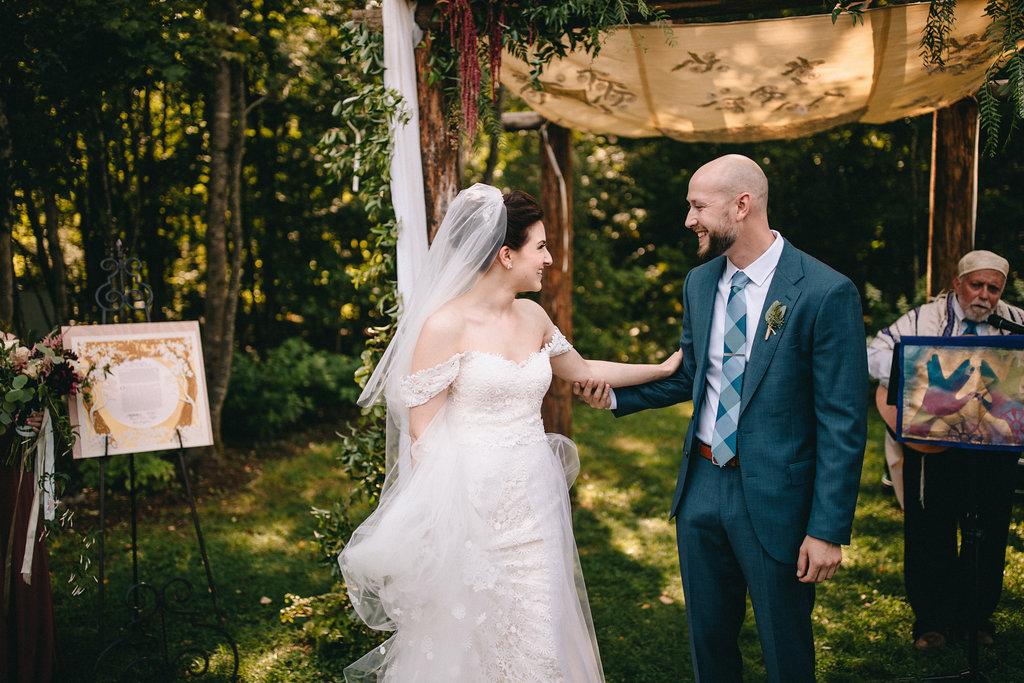Celebrating under the chuppah ~ most beautiful Jewish wedding!