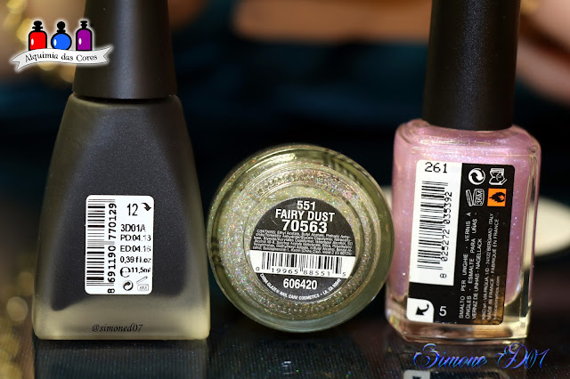 Nails Vinyls, Golden Rose, 12 Matte, Kiko, Sparkle 261, China Glaze Fairy Dust, preto, glitter, Glitter Holográfico, Mony D07, Vinyl Nails,