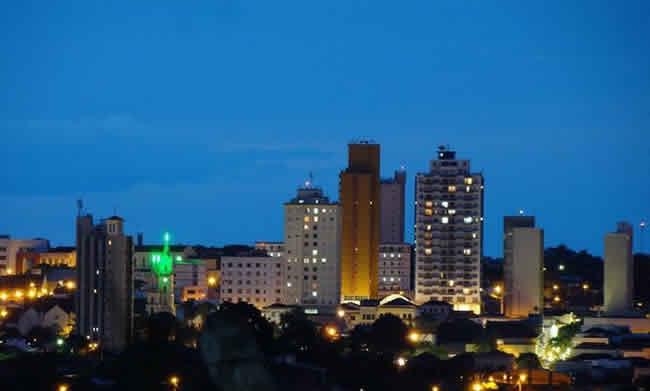 Pequena cidade de Lins - São Paulo