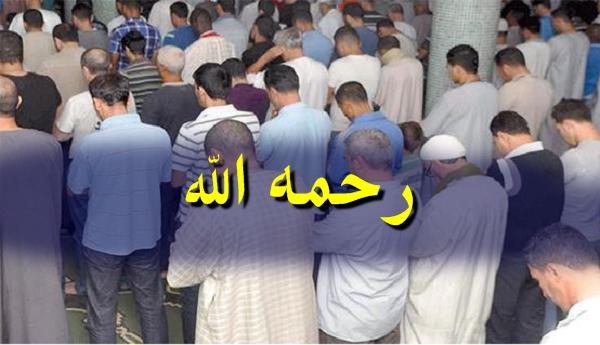 """الشلف تودع الشيخ سي عامر المدعو """"القاضي"""""""