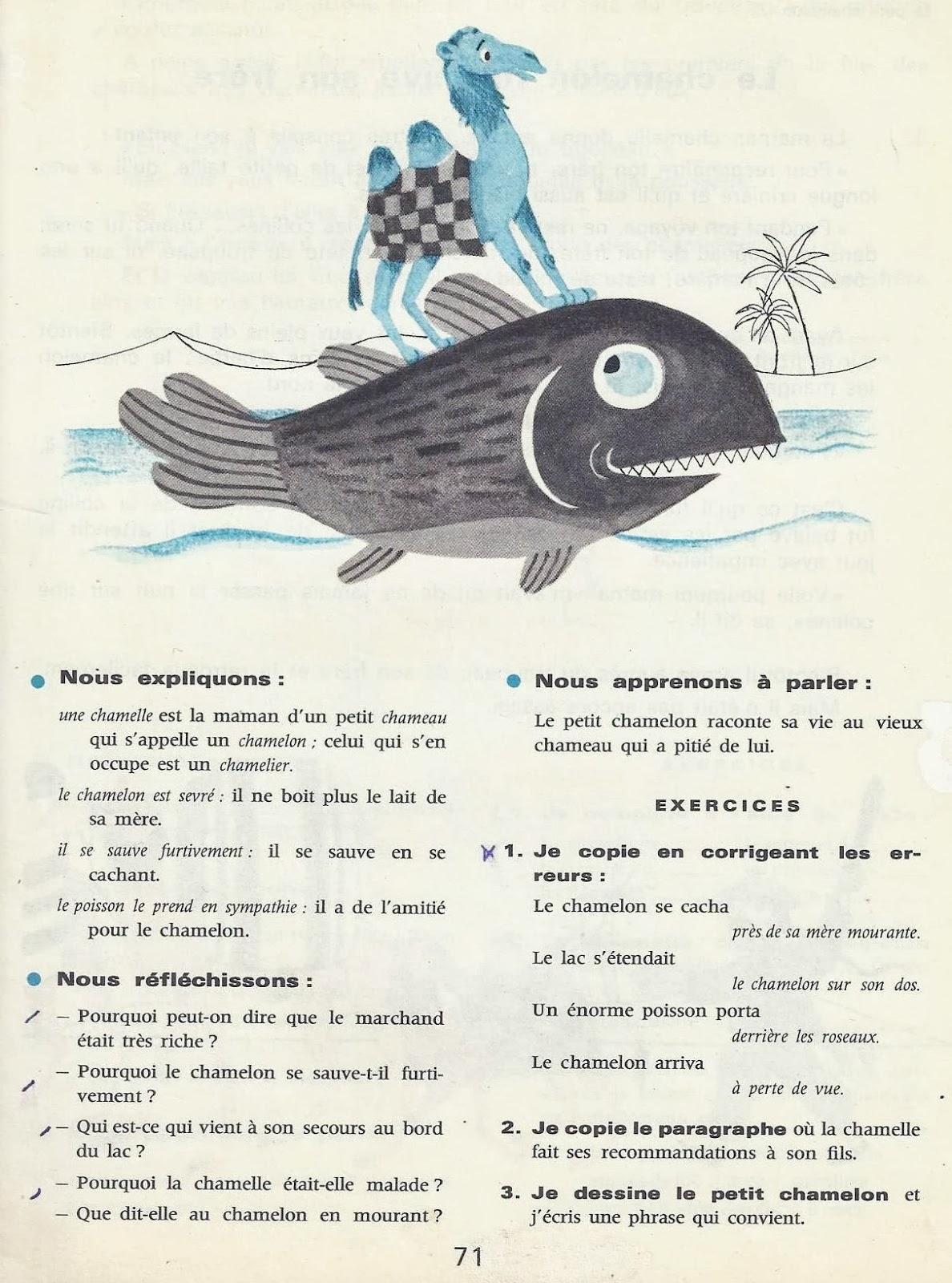 Manuels anciens mareuil goupil au pays des contes lectures pour le ce2 - Ecolier dans la lune ...