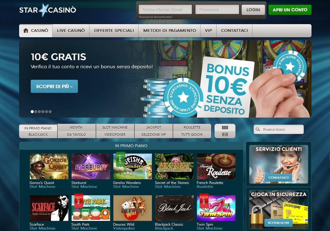 StarCasino Screen