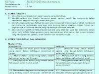 RPP Kelas 1 Kurikulum 2013 Revisi Integrasi PPK
