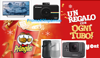Logo ''Celebrate Pringles'' vinci 11.359 premi e un regalo sicuro per ogni Tubo