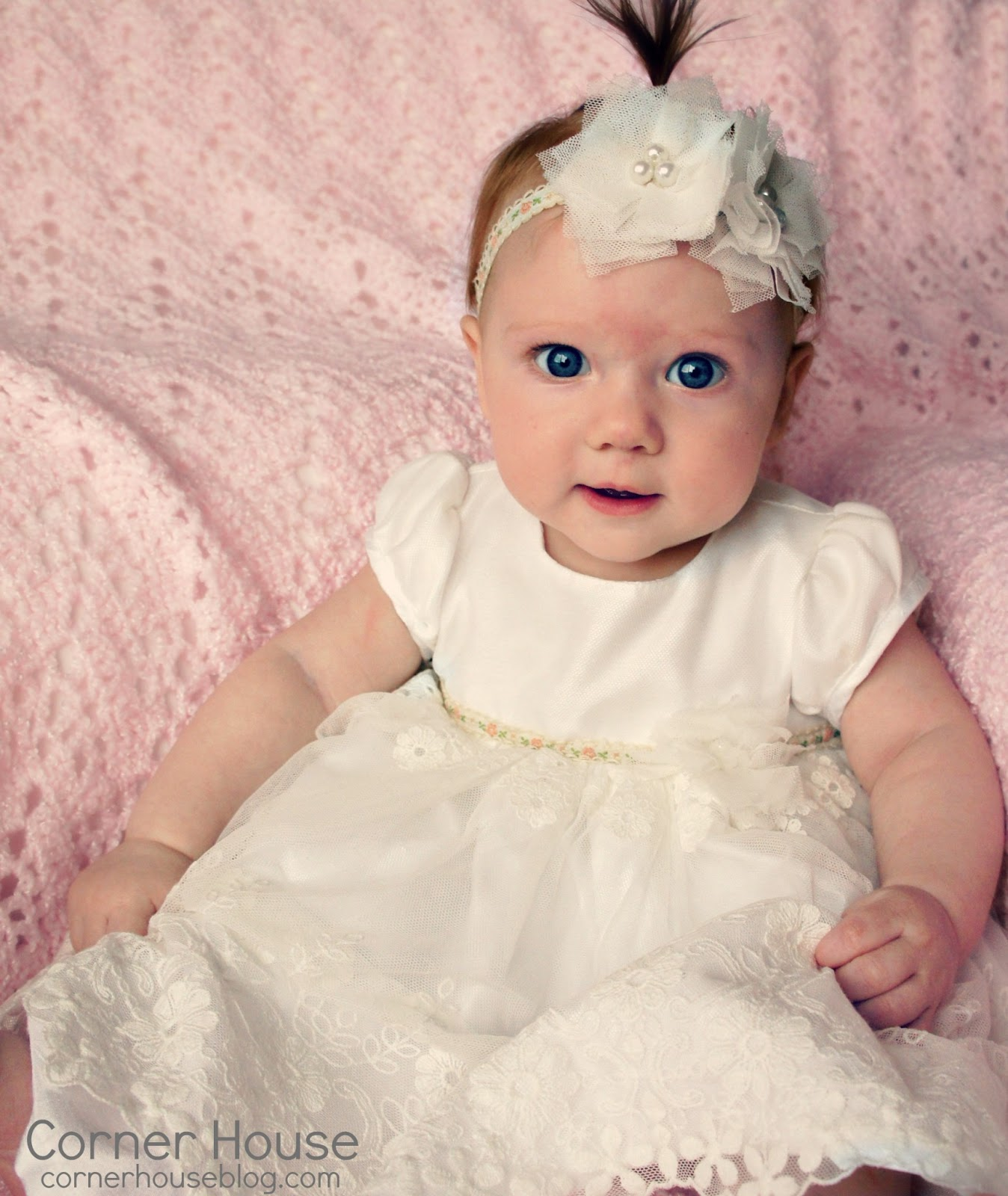 Choose from several materials with our girls' baptism outfits and add extra accessories including headbands, bracelets, and bows for your baby girl.