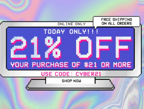 Forever 21 Cyber Monday 21% Off + Free Shipping