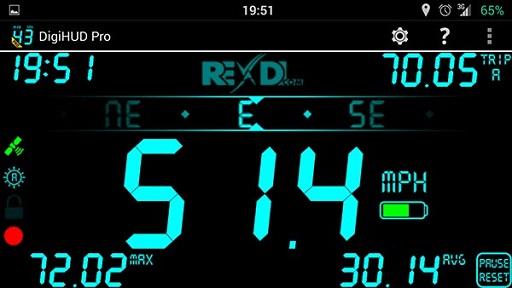 تحميل تطبيق قياس سرعة السيارة digihud pro apk النسخة المدفوعة مجانا