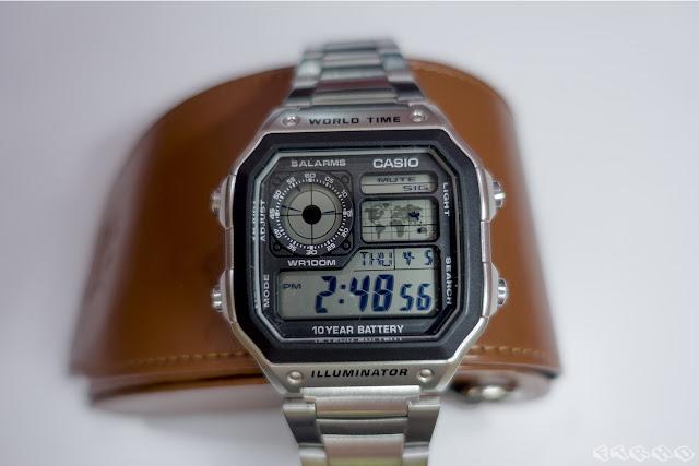 (Ulasan) Jam Tangan Casio AE-1200WHD