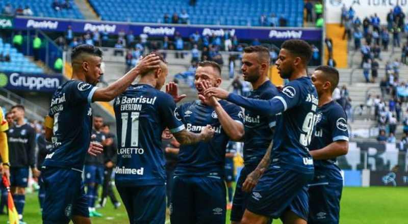 Grêmio vence o América-MG e chega ao G-4 do Campeonato Brasileiro