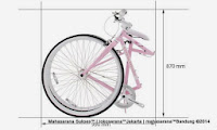 Sepeda Fixie Lipat Doppelganger 808 Tint 700C